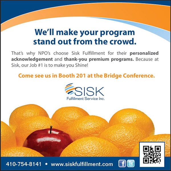 Sisk to Exhibit at DMAW Bridge Conference next week