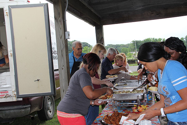 Sisk Associates enjoy Annual Summer Cookout